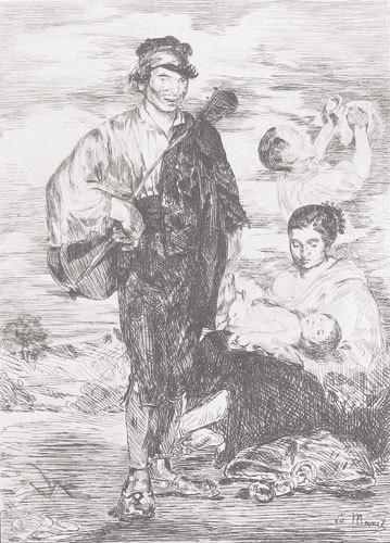 , 'Les Gitanos,' 1862, Galerie d'Orsay