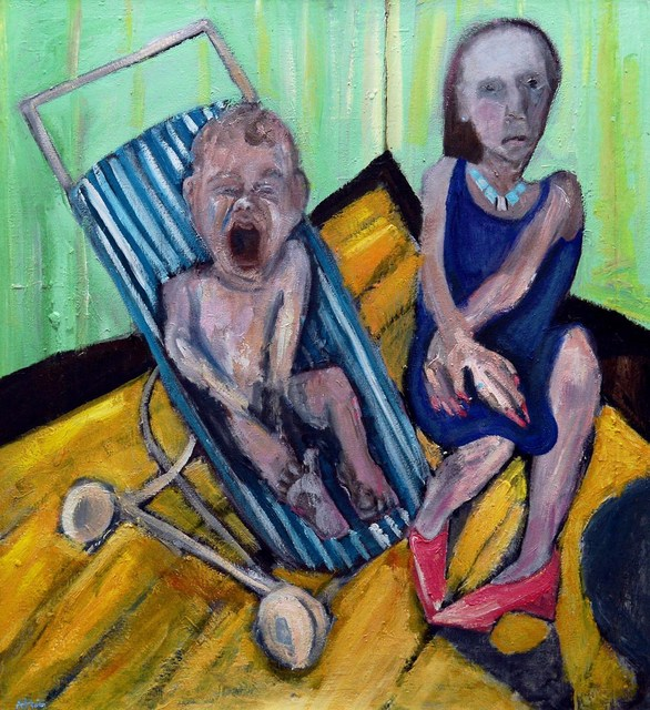 , 'The Scream,' 2016, Castlegate House Gallery