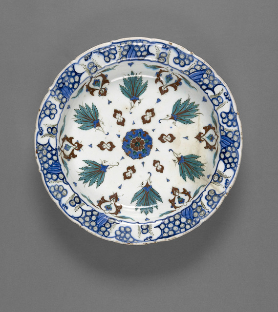 , 'Plate,' late 16th century, National Gallery of Victoria