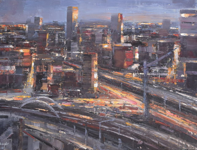 Steven Bewsher, 'City Lights from Beetham Tower', Gateway Gallery