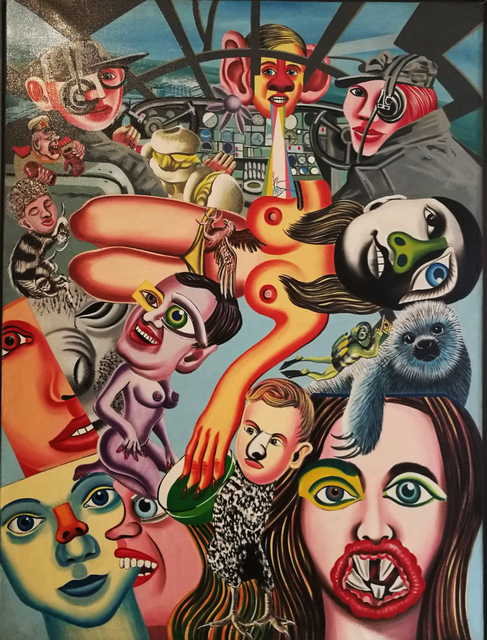 , 'Hi Jacker,' 1972, Galerie du Griffon