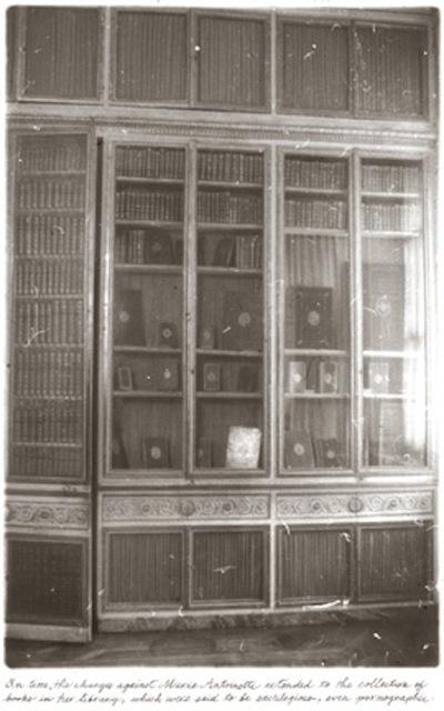 "Deborah Turbeville, 'Marie Antoinette's Library, from ""Unseen Versailles""', 1980, Staley-Wise Gallery"