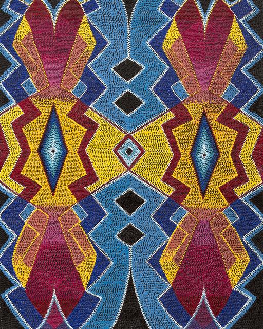 , 'Fireside Reflections,' 2018, Blue Rain Gallery