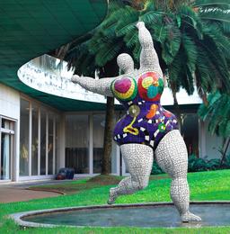 Niki de Saint Phalle, 'Nana Mosaïque Blanche,' ca. 1999, Sotheby's: Contemporary Art Day Auction