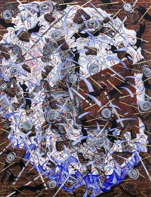 , 'Toppling Facade, Failed Structure,' 2014, Hosfelt Gallery