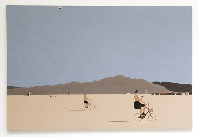 , 'Burning Man,' 2013, Christopher Grimes Projects
