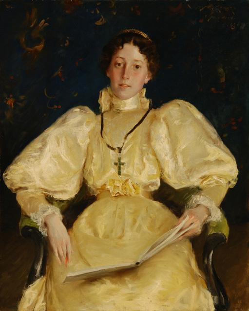 , 'The Golden Lady,' 1896, Parrish Art Museum