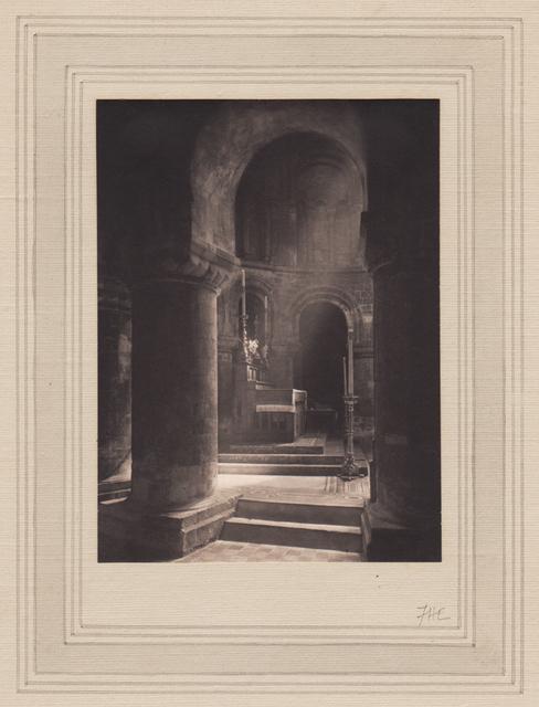 Frederick Henry Evans, 'Aisle to Altar, Priory of St. Bartholomew the Great', Alan Klotz Gallery