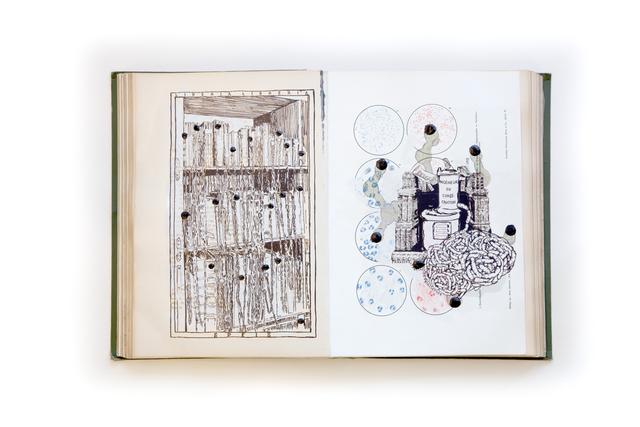 , 'Transsubstantiationsbibliothek,' 2012, Galerie Elisabeth & Klaus Thoman