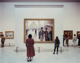 Thomas Struth, 'Art Institute of Chicago II, Chicago,' 1990, Phillips: Photographs