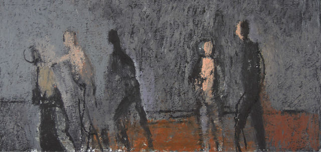 , 'Study for a Procession,' ca. 2014, Thomas Deans Fine Art