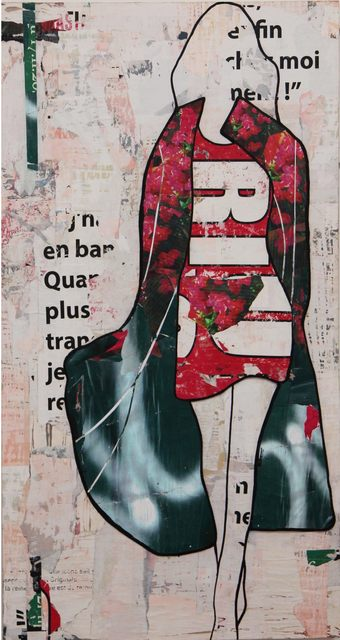, 'Green Graffiti Coat,' , Joanne Artman Gallery