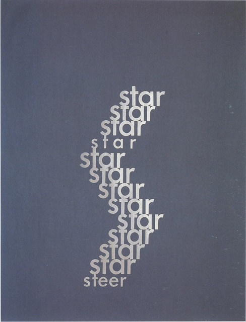 , 'Star / Steer,' 1996, Ingleby Gallery