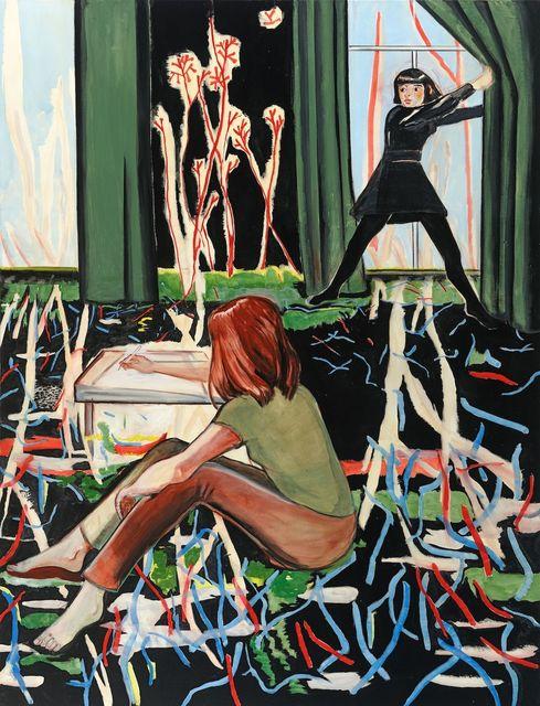 , 'Ansporn,' 2012, G2 Kunsthalle