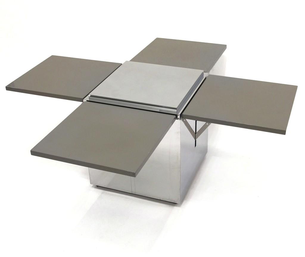 Karl springer custom coffee table ca 1980s artsy - Artsy coffee tables ...