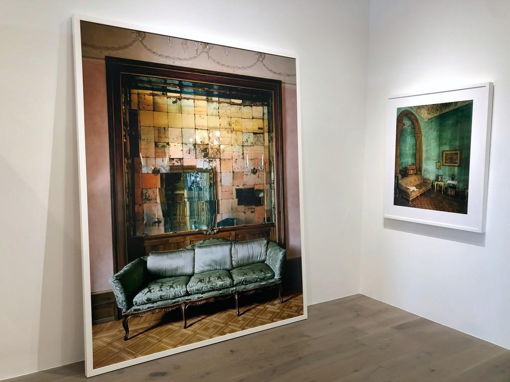 Michael Eastman: Mirror Grid #2, Milan; Green Living Room, Havana