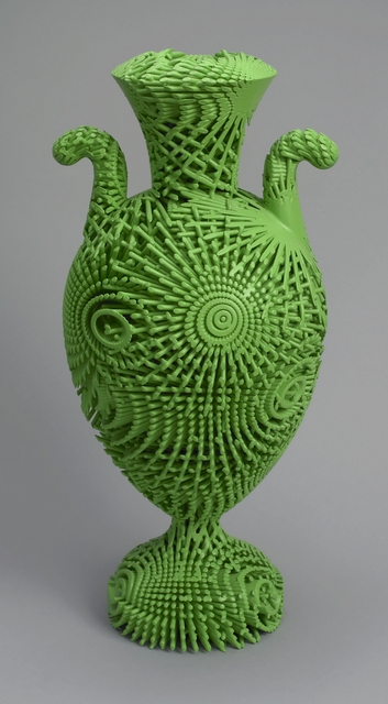 Michael Eden, 'Tall Green Bloom urn', 2012, Cooper Hewitt, Smithsonian Design Museum
