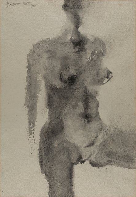 Akbar Padamsee, 'Untitled', 1986, Painting, Watercolor on paper, Museum of Art & Photography