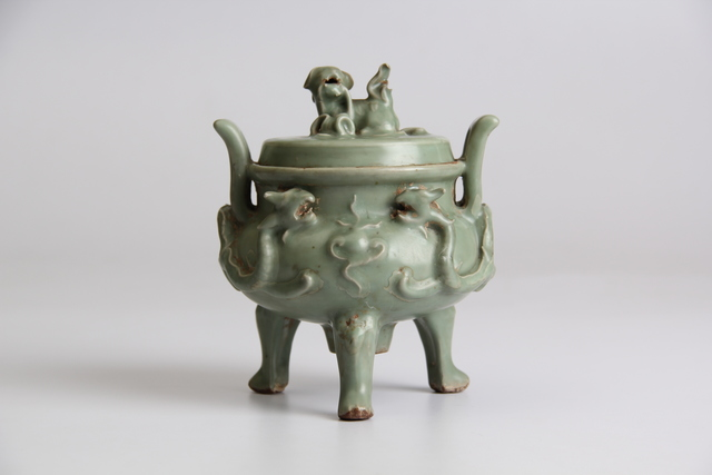 , 'Celadon incense burner,' ca. ca. 14th century, Ayala Museum