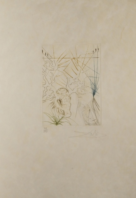 Salvador Dalí, 'Shakespeare II The Merry Wives of Windsor', 1971, Print, Etching, Fine Art Acquisitions Dali