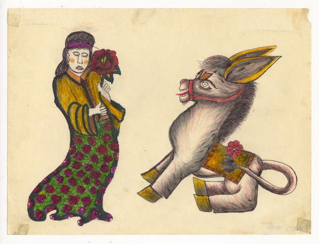 , 'Untitled (Donkey),' ca. 1950, Ricco/Maresca Gallery