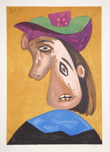 Pablo Picasso, 'Le Pleureuse, 1939', 1979-1982, Print, Lithograph on Arches paper, RoGallery