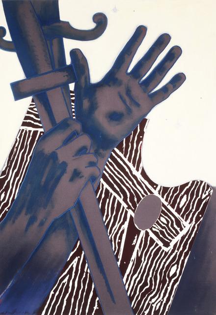 Edgar Franceschi, 'The Oath: For Your Eyes Only', 2012, Carter Burden Gallery