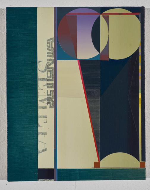 , 'Un-evening Owlseed,' 2018, Morgan Lehman Gallery