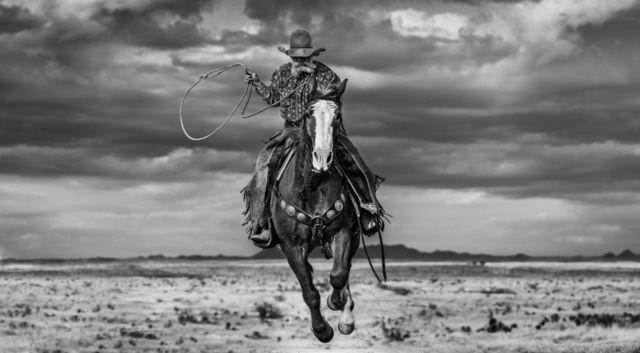 David Yarrow, 'True Grit', 2020, Photography, Black and white print, Isabella Garrucho Fine Art