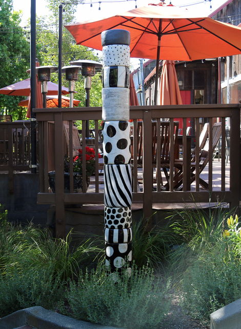 , 'Black and White #101 Totem,' 2012, Sculpturesite Gallery