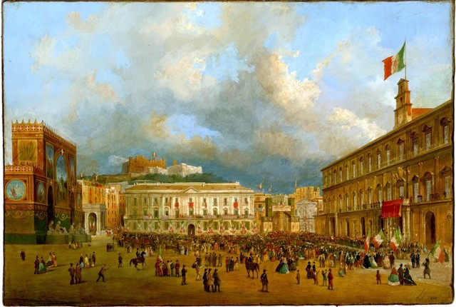 , 'Arrival of Victor Emmanuel II in Naples the 7 November 1860,' 1860, A. Pallesi Art Gallery