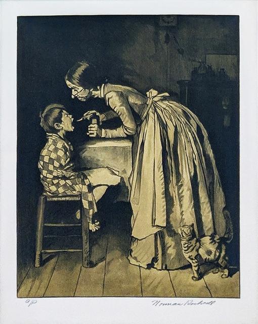 Norman Rockwell, 'MEDICINE (SEPIA)', 1976, Gallery Art