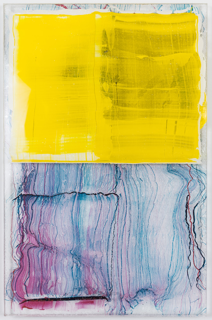 , 'Yellow Transference,' 2016, JanKossen Contemporary