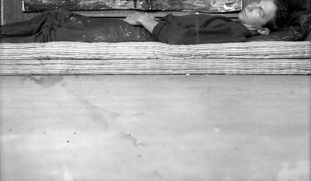 Robert Rauschenberg, 'Postcard Self-Portrait, Black Mountain (II)', 1952, Robert Rauschenberg Foundation