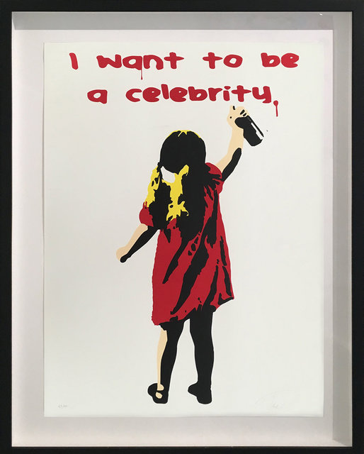 , 'I Want to be a Celebrity (Red),' 2017, Bruce Lurie Gallery