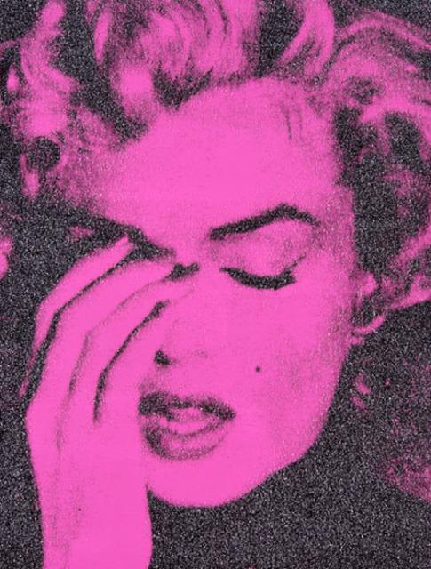 , 'Marilyn Crying (Serrano Pink),' 2013, 212GALLERY