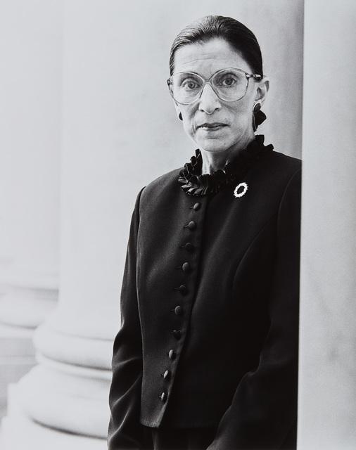 Michael O'Neill, 'Ruth Bader Ginsburg, Supreme Court, D.C., November 1', 1998, Phillips