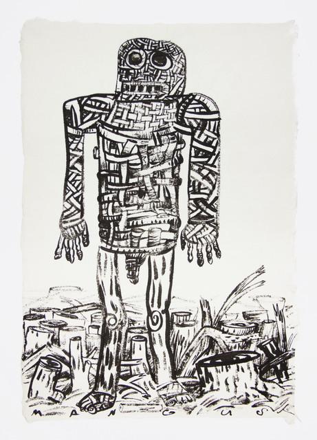 , 'Basket Armor,' 1988, James Cohan