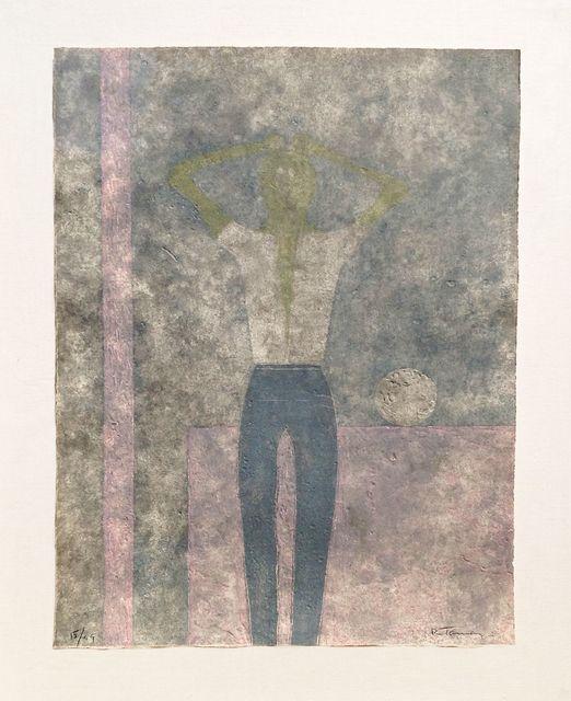, 'Hombre con Abrazos Sobre La Cabeza (Man With Arms Over His Head),' 1984, Zane Bennett Contemporary Art