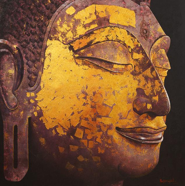 Pajonyut Puvijarn, 'Gold Buddha ', 2016, Asiart Gallery