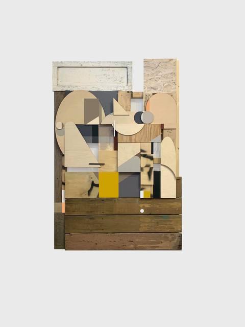 Alexey Luka, 'Untitled', 2019, Installation, Wood, plywood, spray, Ruarts Gallery