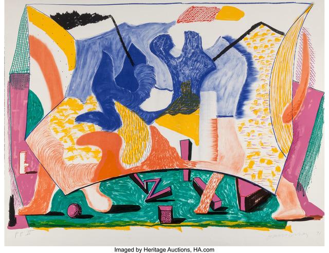 David Hockney, 'Twelve Fifteen', 1991, Heritage Auctions