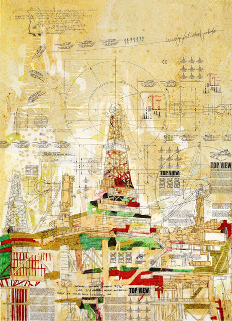 , 'Platform-28.594283, 69.170006,' 2014, Meem Gallery