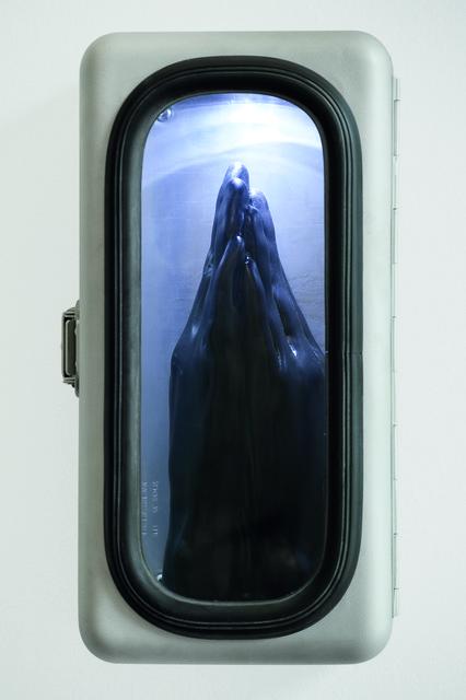, 'Ex-voto,' 2009, Rotwand