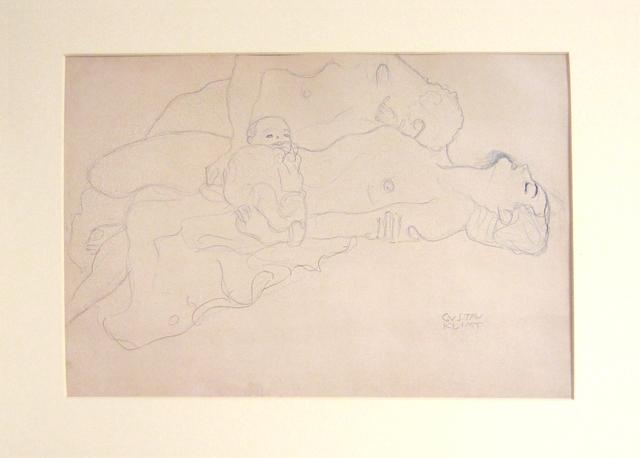 Gustav Klimt, 'Untitled I.IV', 1985, Print, Lithograph, michael lisi / contemporary art