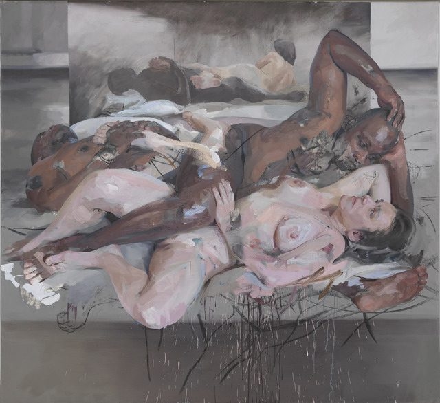 Jenny Saville, 'Odalisque', 2012-2014, Painting, Oil and charcoal on canvas, Gagosian