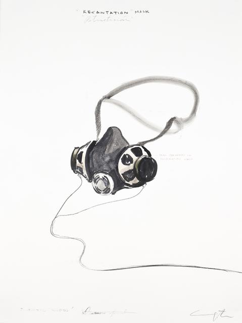 "Yoan Capote, '""Recantation"" Mask ', 2015, Ben Brown Fine Arts"