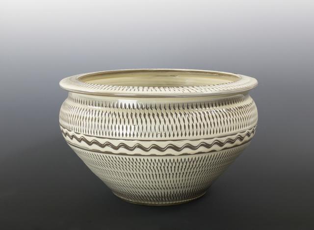 , 'Large Bowl with Tobikanna (Blade Skip) Design,' n/a, Pucker Gallery