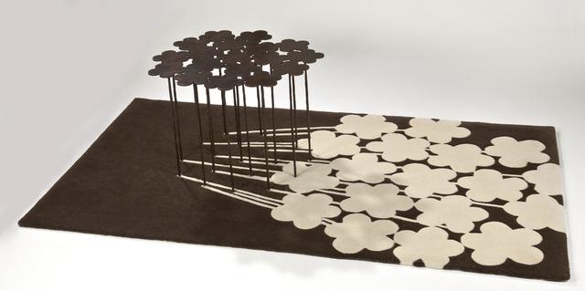 , 'Table Tapis ombre chinée ,' 2000, Mazel Galerie
