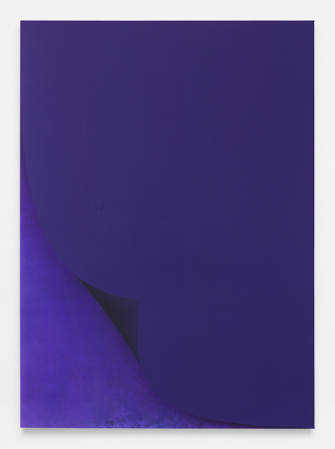 , 'Untitled Painting in Blue-Violet,' 2016, Rodolphe Janssen